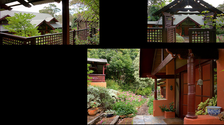 1993, Private residences at Wentworth Falls designed and built by Johan.