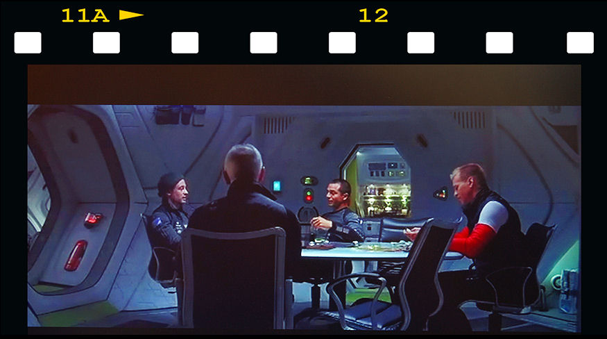 "1994, board room seating for SciFi movie ""The Red Planet"" starring Val Kilmer."