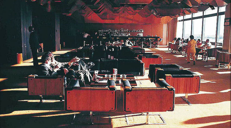 1969, Seating and bar design for Tullamarine International Airport